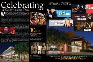 Stafford Centre 10th Anniversary Campaign